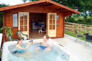 Hot Tub, The Red Gates, Corofin, Co Clare