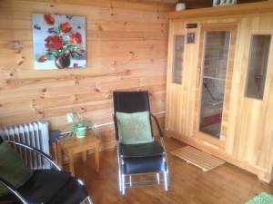 Sauna Room, The Red Gates, Corofin, Co Clare